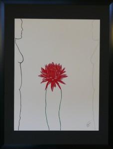 Cactus door Nathalia Zoer