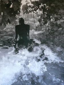 Water vrouw door Nathalia Zoer