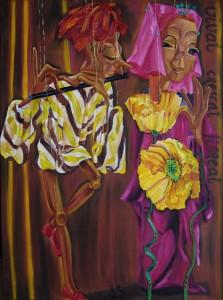 De Fluitist door Berthilde Bouman